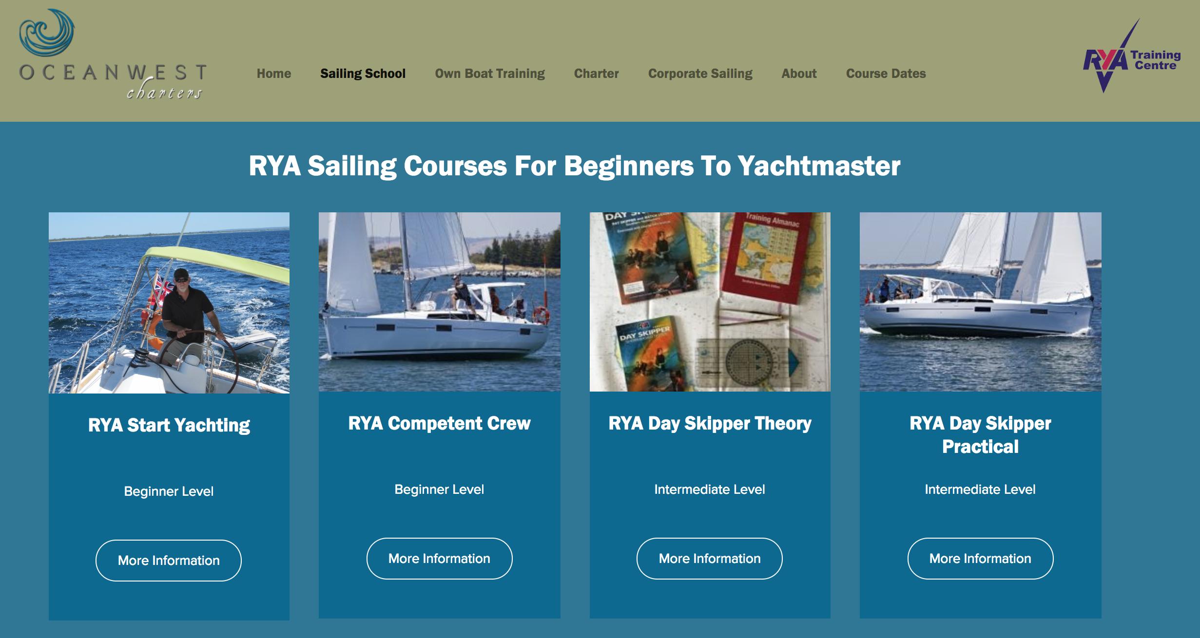 rya sailing school