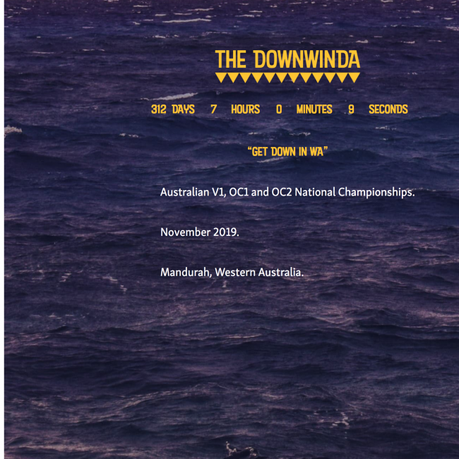 the downwinda